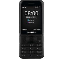 Телефон Philips Xenium E181 Black